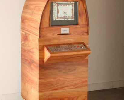 Ordination kiosk sculpture